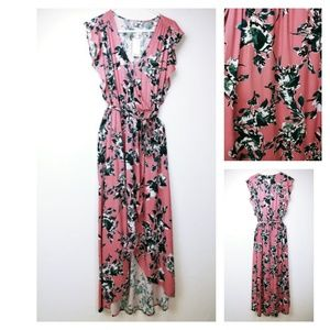 Pink/Mauve floral Splendid dress